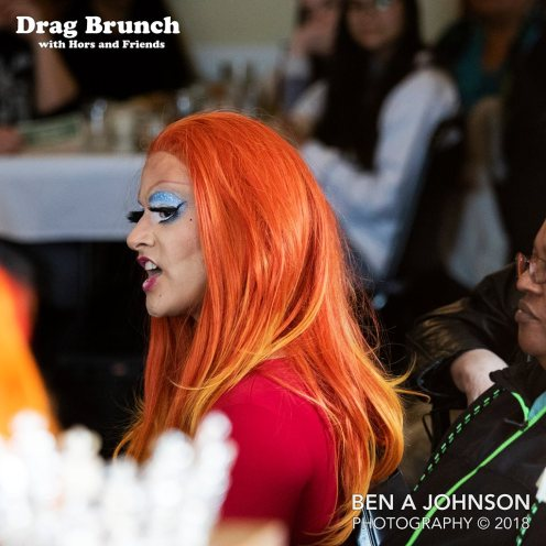 Drag Brunch with Hors and Friends, February 2018. Photo by Ben A Johnson Photography.