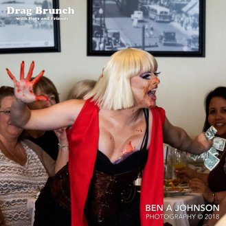 Drag Brunch with Hors and Friends, June 2018. Photo by Ben A Johnson Photography.